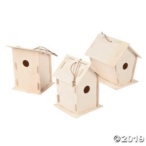 Bird House building Craft @ Gowanda Free Library
